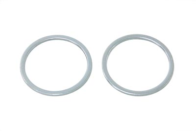V-Twin 24-0642 - Fork Seals Zinc
