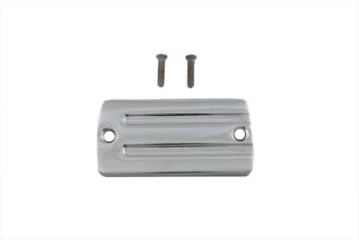 V-Twin 24-0927 - Handlebar Master Cylinder Cover Chrome Alloy