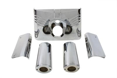 V-Twin 24-9959 - Fork Cover Kit Chrome