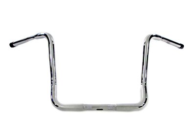 "V-Twin 25-0989 - 15"" Bagger Handlebar with Wiring Holes"