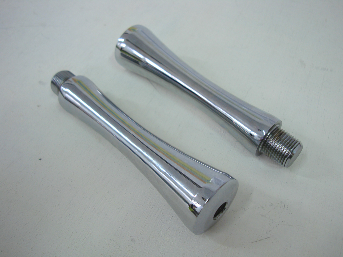 "V-Twin 25-1751 - 5"" Flander's Style Riser Stems"