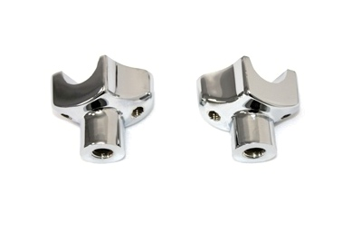 "V-Twin 25-2178 - 1-7/8"" Riser Stem Set Chrome"