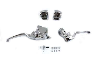 V-Twin 26-0405 - Handlebar Control Kit Chrome