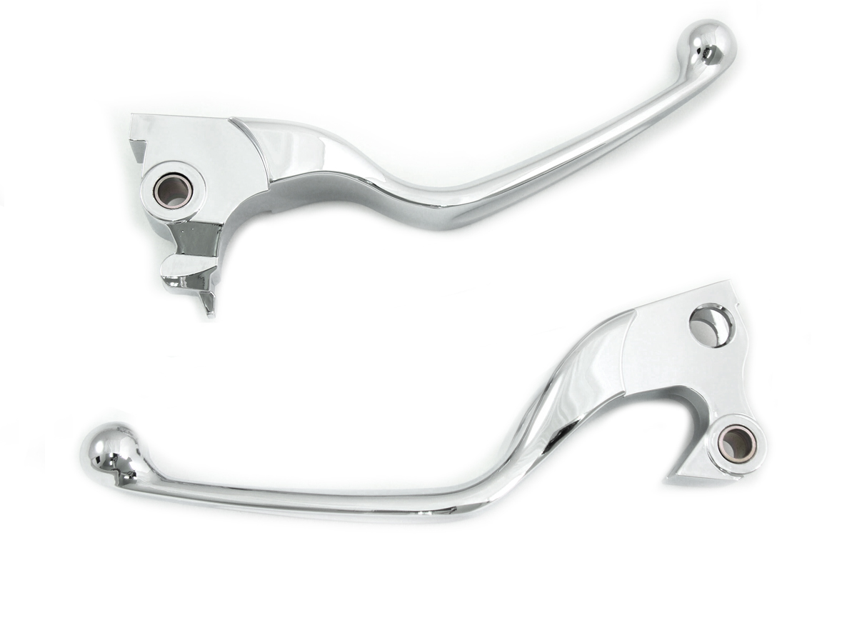 V-Twin 26-0466 - Chrome Hand Lever Assembly