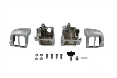 V-Twin 26-0793 - Handlebar Control Switch Housing Kit Chrome