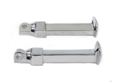 V-Twin 27-0014 - Chrome Rail Style Footpeg Set