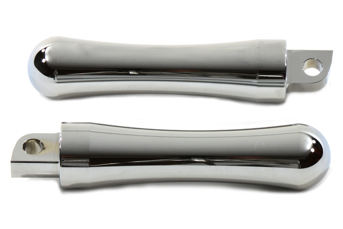 V-Twin 27-0043 - Slugger Style Billet Footpeg Set Chrome