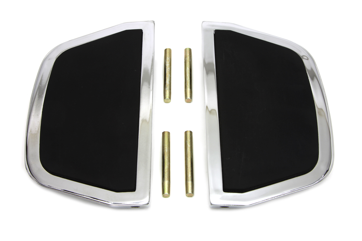 V-Twin 27-0229 - Passenger Footboard Set Chrome