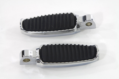 V-Twin 27-0327 - Rubber Inlay Footpeg Set