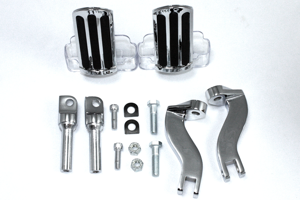 V-Twin 27-0564 - Rail Style Adjustable Footpeg Kit
