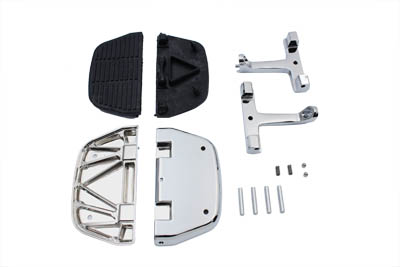 V-Twin 27-0854 - Passenger Footboard Set Chrome