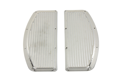 V-Twin 27-0911 - Footboard Mat Set Chrome