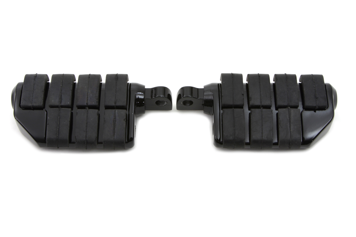 V-Twin 27-1059 - Black Double Wide Cats Paw Footpeg Set
