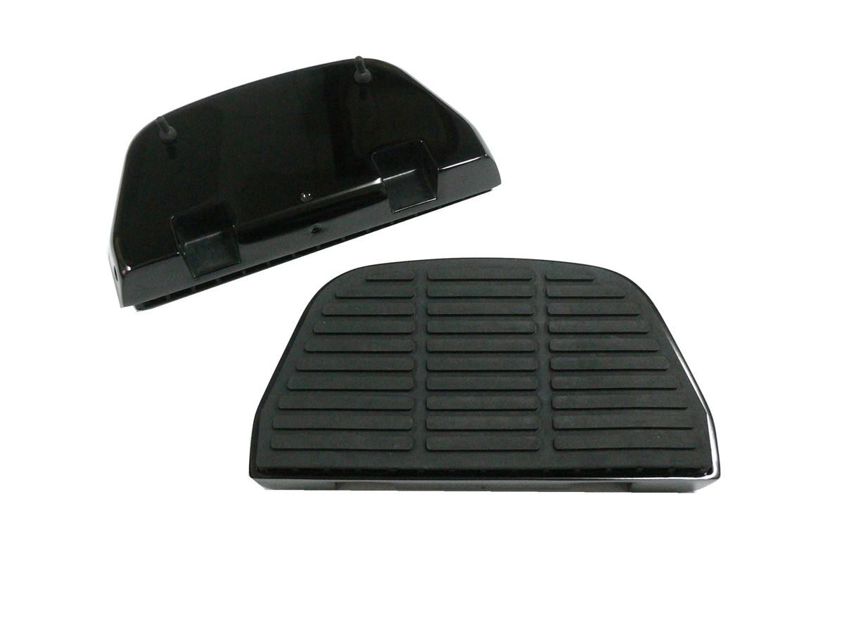 V-Twin 27-1126 - Black Block Rear Passenger Footboard Kit