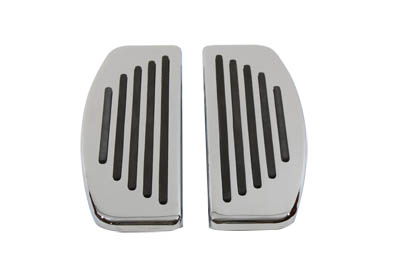 V-Twin 27-1250 - Driver Footboard Set with Rail Design