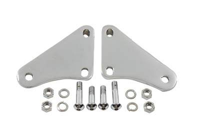 V-Twin 27-1531 - Footpeg Mount Kit Passenger Chrome