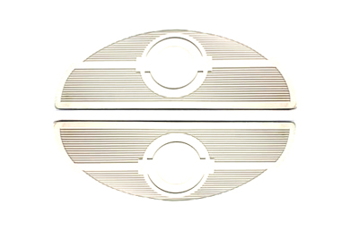 V-Twin 28-0405 - Footboard White Mat Set