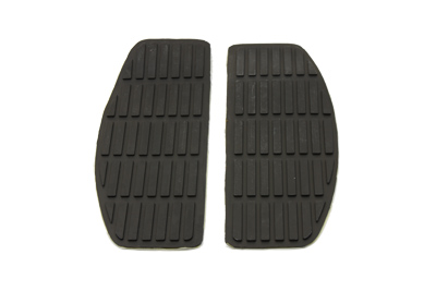 V-Twin 28-0413 - Footboard Black Mat Set