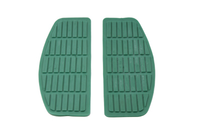 V-Twin 28-0429 - Footboard Teal Mat Set