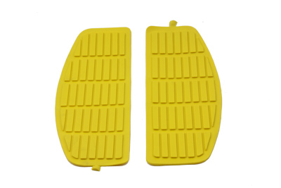 V-Twin 28-0432 - Footboard Yellow Mat Set