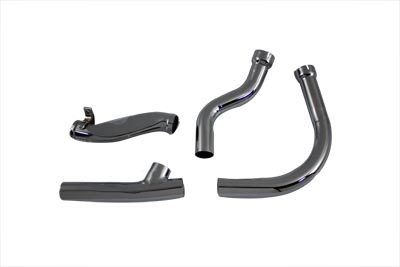 V-Twin 29-0173 - 2 into 1 Exhaust Pipe Chrome Header Set