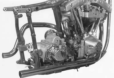 V-Twin 29-1106 - Dual Crossover Chrome Exhaust System
