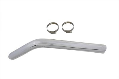 V-Twin 30-0096 - Exhaust Crossover Heat Shield Chrome