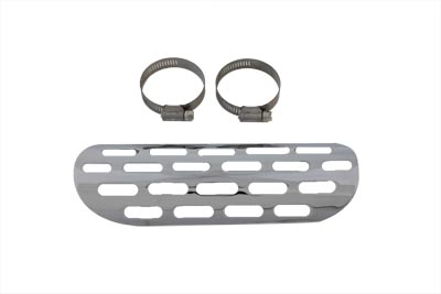 V-Twin 30-0109 - Exhaust Heat Shield - Perforated Style