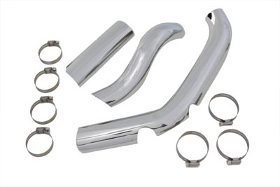 V-Twin 30-0333 - Two Into One Exhaust Heat Shield Kit