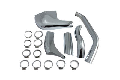 V-Twin 30-0350 - Exhaust Pipe Heat Shield Set