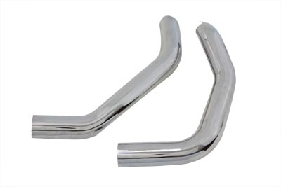 V-Twin 30-0356 - Drag Exhaust Pipe Heat Shield Set