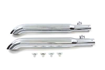 V-Twin 30-0358 - Turnout Slip-On Muffler Set