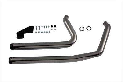 V-Twin 30-0390 - Exhaust Header Set Flush Cut Style