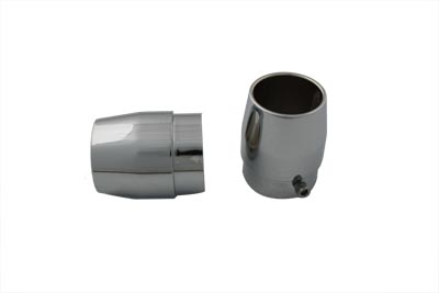 V-Twin 30-0453 - Straight Exhaust Pipe Tips