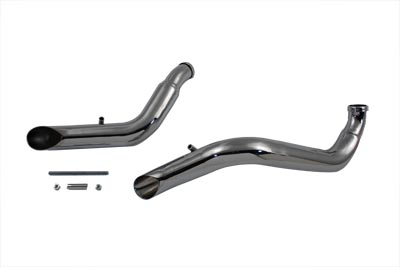 V-Twin 30-0544 - Exhaust Drag Pipe Set Down Type