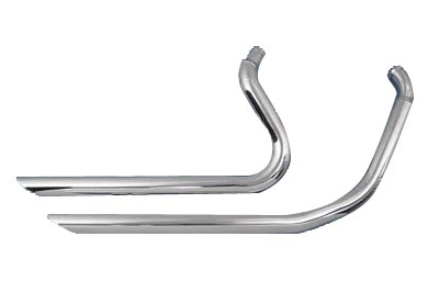 V-Twin 30-0552 - Exhaust Drag Pipe Set Down Slash