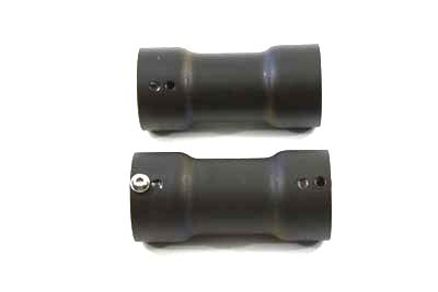 "V-Twin 30-0618 - 2-1/4"" Torque Tube Baffle Set Plain Type"