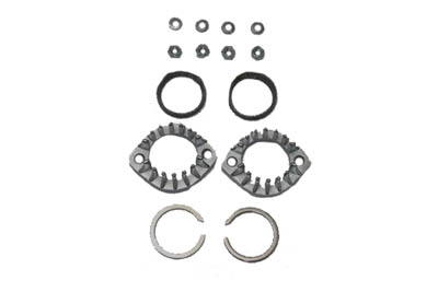 V-Twin 30-0857 - Finned Exhaust Port Flange Kit