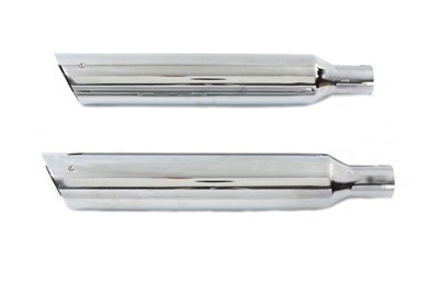 V-Twin 30-0861 - Side Slash Slip-On Muffler Set