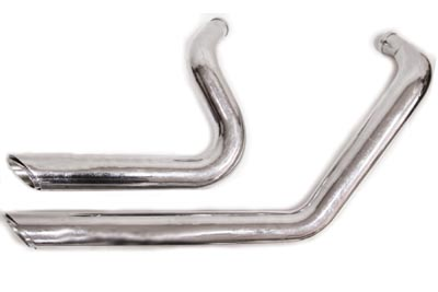 V-Twin 30-0952 - Exhaust Drag Pipe Set Short Shots