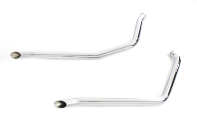 V-Twin 30-2166 - Exhaust Drag Pipe Set Goose