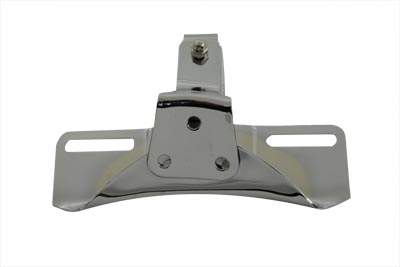 V-Twin 31-0158 - License Plate Frame Bracket Chrome