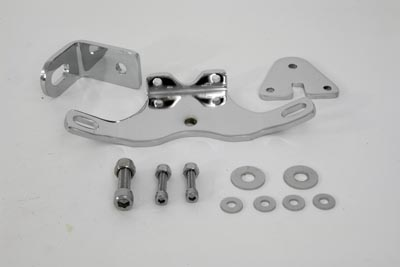 V-Twin 31-0212 - Chrome Heavy Duty Two Piece Top Motor Mount Kit