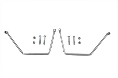 V-Twin 31-0213 - Chrome Saddlebag Support Set