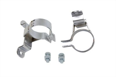 V-Twin 31-0280 - Fishtail Exhaust Clamp Set