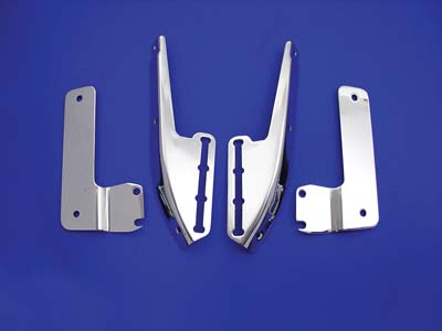 V-Twin 31-0438 - Windshield Bracket Kit Chrome