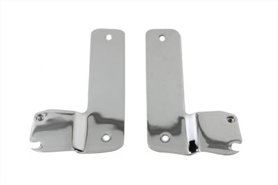 V-Twin 31-0458 - Windshield Mount Brackets Chrome