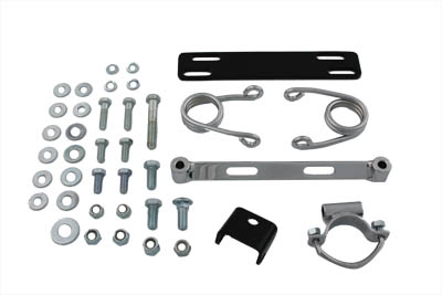 V-Twin 31-0608 - Chrome Hair Pin Solo Seat Mount Kit