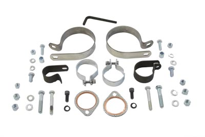V-Twin 31-0707 - Dual Exhaust Clamp Kit