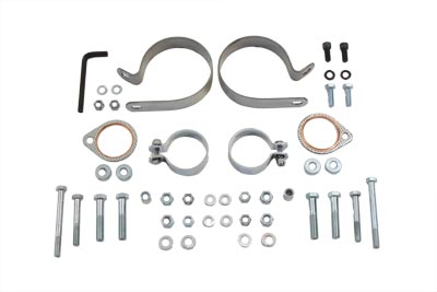 V-Twin 31-0708 - Dual Exhaust Clamp Kit